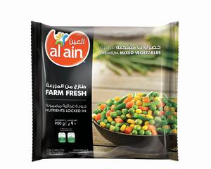 Al Ain Mixed Vegetable 900g