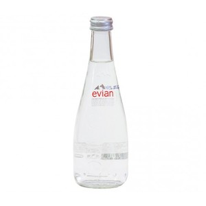 Evian Glass Bottle 0.33 L