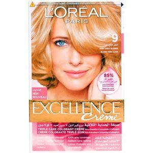 L'Oreal Paris Excellence 9 Light Blonde Haircolor 72ml