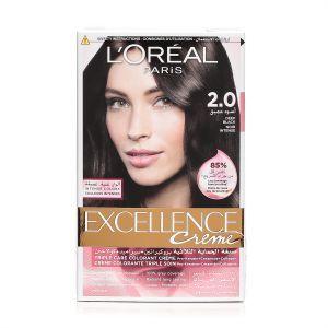 L'Oreal Paris Excellence Creme 2.0 Deep Black Haircolor 100g