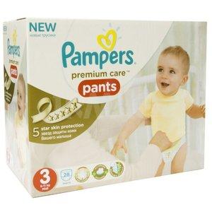 Pampers Premium Care Pants Size 3 Medium 6 11 Kg 28pc