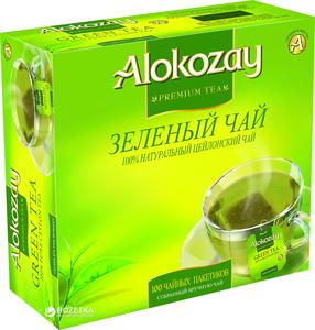 Alokozay Green Tea Bags no's  100