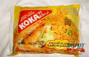 Koka M/Pack Noodles Prawn 5x85g