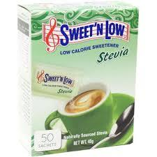 Sweet'n Low Stevia Sachets 50s