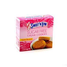 Sweet'n Low Cream Cookie   Lemon 162g