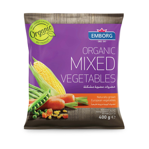 Organic Mixed Vegetables 400g