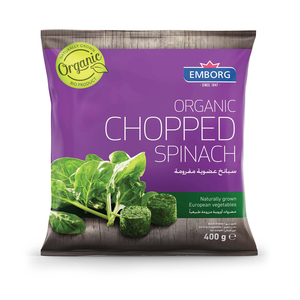 Organic Chopped Spinach 400g