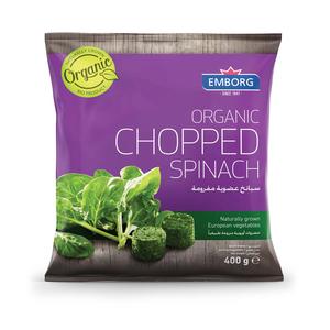 Organic Chopped Spinach 400g