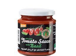 Organic Larder Tomato Sauce With Basil 300g