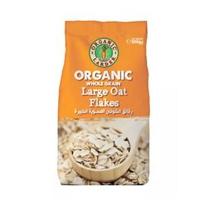 Organic Larder Large Oat Flakes 500g