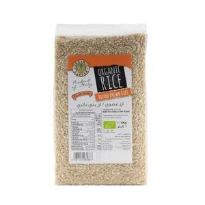 Organic Larder Round Brown Rice 1kg