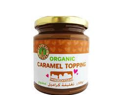 Organic Larder Caramel Topping 330g
