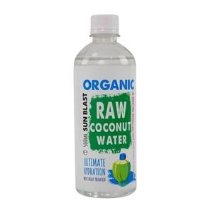 Organic Larder Raw Coconut Water 500ml