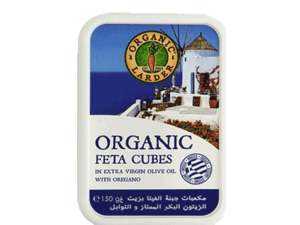 Organic Larder Feta Cubes 150g