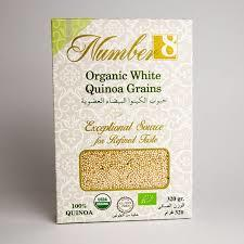 Number8 Organic White 1pkt