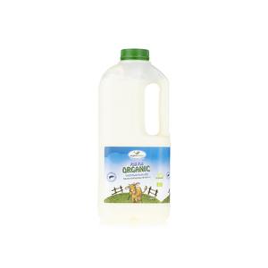 Organiliciouz Full Fat Organic Local Fresh Cow's Milk 1L