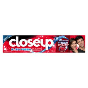 Closeup Toothpaste Red Hot 24x2x120ml