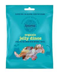 Biona Organic Jelly Dinos 75 G 75g