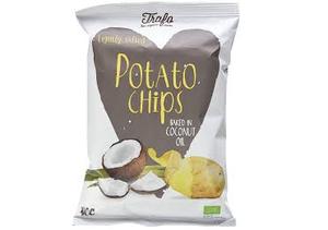 Trafo Organic Coconut Oil Crisps 40g