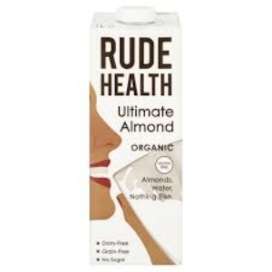 Rude Health Organic Ultimate Almond Milk 1L