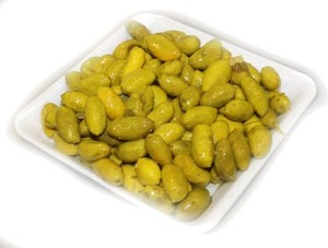 Palestinian Green Olives 100gm