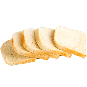 Bread White Slice Toast 600g