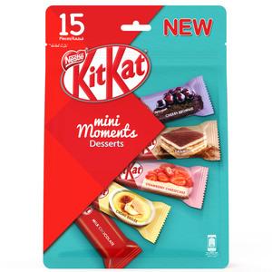 KitKat Mini Moments Desserts Chocolate Pouch 255g