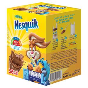 Nestlé Nesquik Chocolate 32 32x14.3g