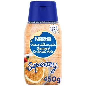 Nestle Condensed Milk Squeezy Bottle 450g