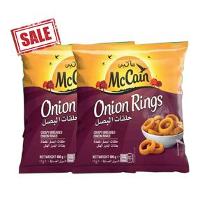Mccain Onion Rings 2x400gm