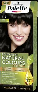 Palette Permanent Natural Colours Cream 1.0, Black 50ml