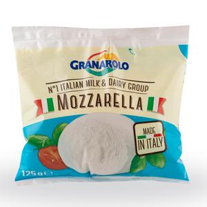 Granarolo Cow Mozzarella Cheese Single Serving 125g