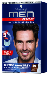 Men Perfect Hair Color Black Brown 80 50ml