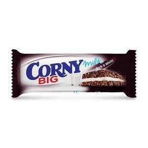 Corny Milk Dark & White Big 40g