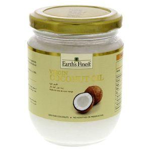 Earth Finest Organic Virgin Coconut Oil 200ml