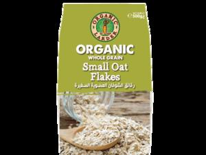Organic Larder Small Oat Flakes 500g