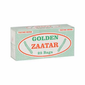Golden Zaatar Thyme Tea Bags 25x2g