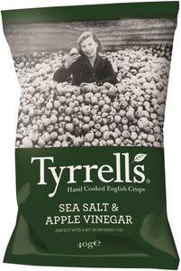Tyrrell's Apple Vinegar And Sea Salt 40g