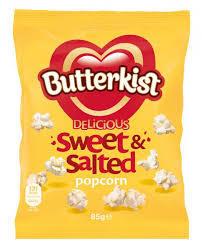Butterkist Popcorn Sweet & Salad 85g
