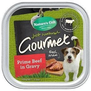 Natures Gift Prime Beef Cuts & Gravy 100g