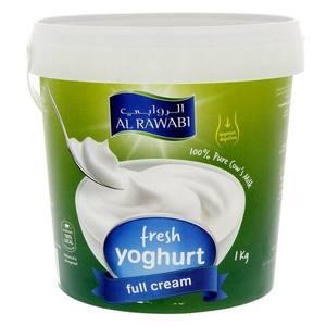 Al Rawabi Full Cream Yoghurt 1kg