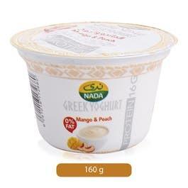 Nada Greek Yoghurt Peach 160g