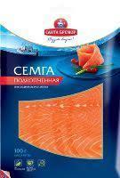 Santa Bremor Soft Smocked Salmon Fillet Slice 100g