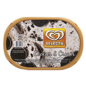 Selecta Ice Cream Cookies & Cream 750ml