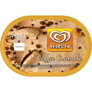Selecta Ice Cream Coffee Crumble 750ml