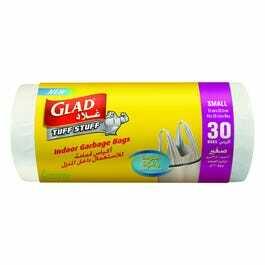 Glad Indoor Garbage Bags Small Handle Tie 12x30ct