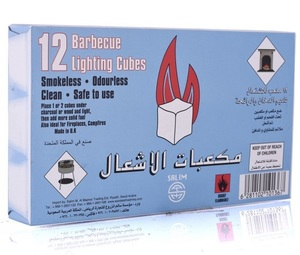Barbeque Lighting Cubes 12s