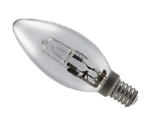 Ge Candle Halogen Lamp 42W Cl E14240V 1pc
