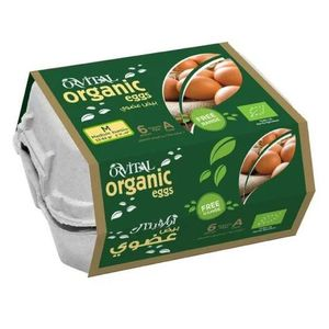 Orvital Organic Eggs Class A Free Range 6pcs