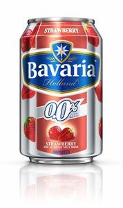Bavaria Non Alcoholic Beverage Strawberry 330ml